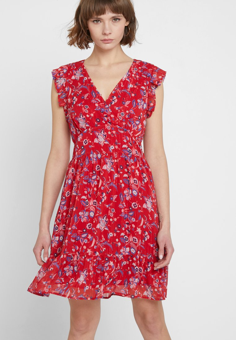 Liu Jo Jeans - ABITO BLOOM - Day dress - rouge texan