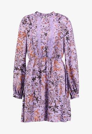 ABITO SHORT DRESS - Skjortklänning - purple