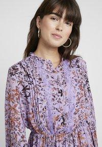 Liu Jo Jeans - ABITO SHORT DRESS - Skjortklänning - purple - 3