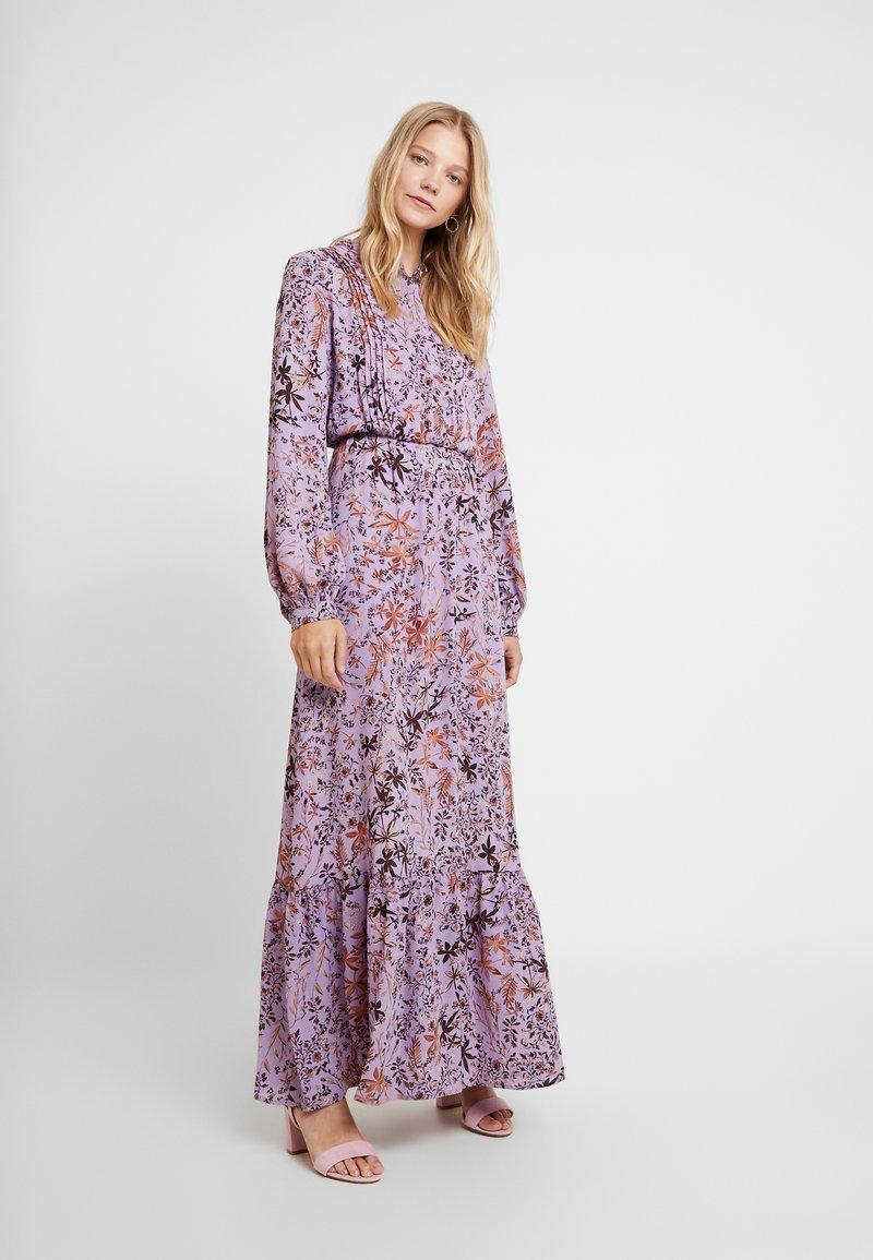 Liu Jo Jeans - ABITO LONG DRESS - Vestido largo - purple