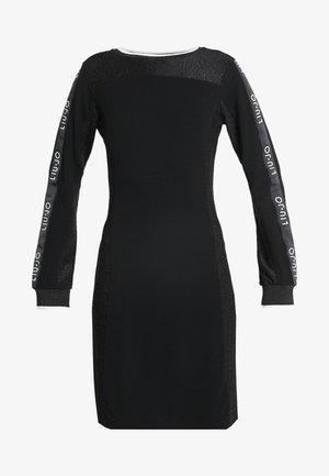 ABITO FELPA - Robe en jersey - nero