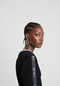 Liu Jo Jeans - ABITO FELPA - Vestito di maglina - nero - 5