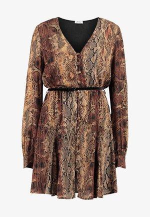 ABITO CORTO ADDITIONAL - Robe d'été - tan/black