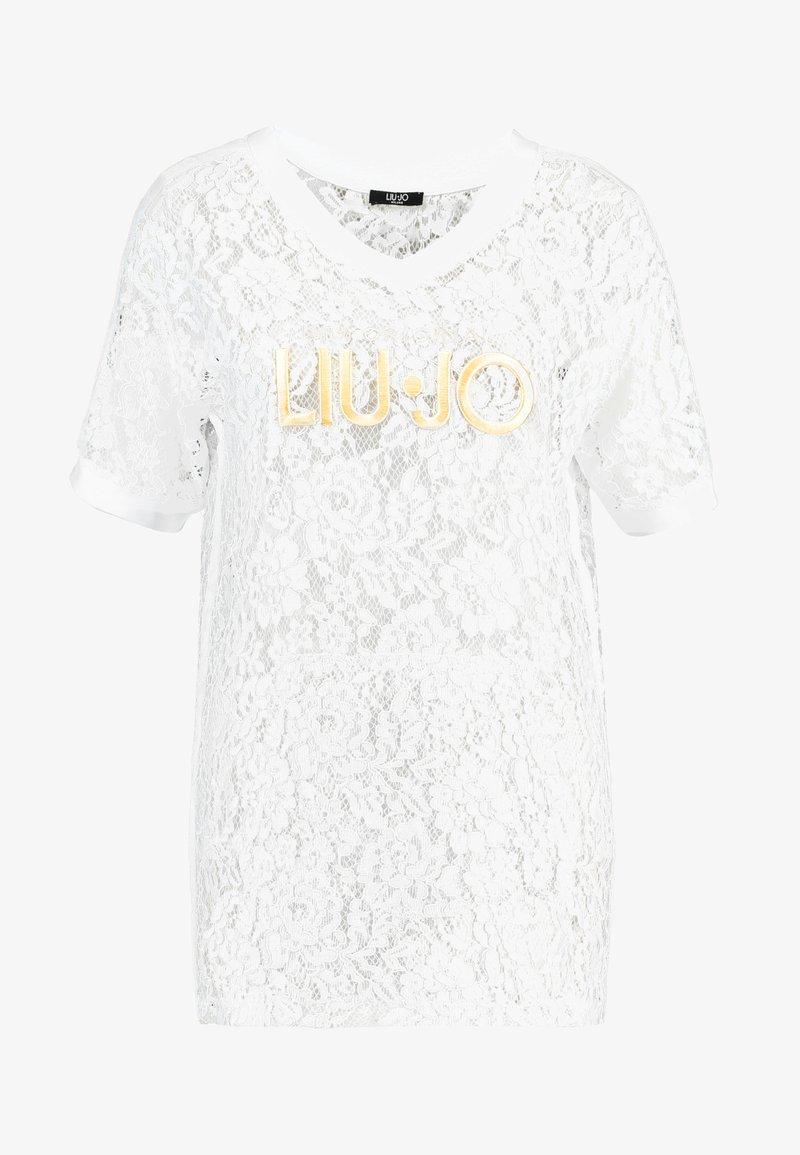 Liu Jo Jeans MAXI - Bluser - bianco ottico