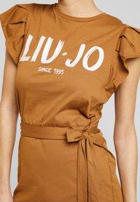 Liu Jo Jeans - ABITO UNITA - Jersey dress - deer/loto - 4