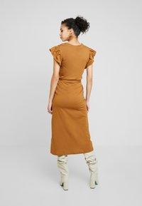 Liu Jo Jeans - ABITO UNITA - Jersey dress - deer/loto - 2