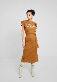 Liu Jo Jeans - ABITO UNITA - Jersey dress - deer/loto - 1