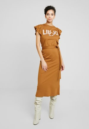 ABITO UNITA - Jersey dress - deer/loto