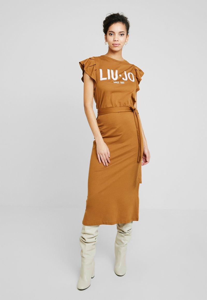 Liu Jo Jeans - ABITO UNITA - Jersey dress - deer/loto
