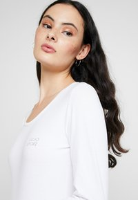 Liu Jo Jeans - BASICA - Bluzka z długim rękawem - bianco - 4