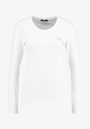 BASICA - Camiseta de manga larga - bianco
