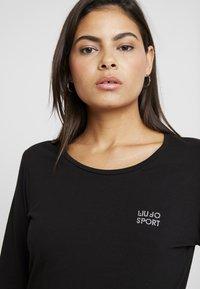 Liu Jo Jeans - BASICA - T-shirt à manches longues - nero - 4