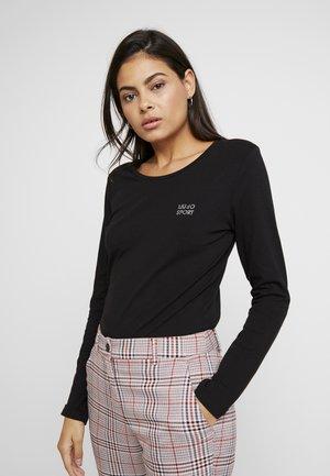 BASICA - Långärmad tröja - nero