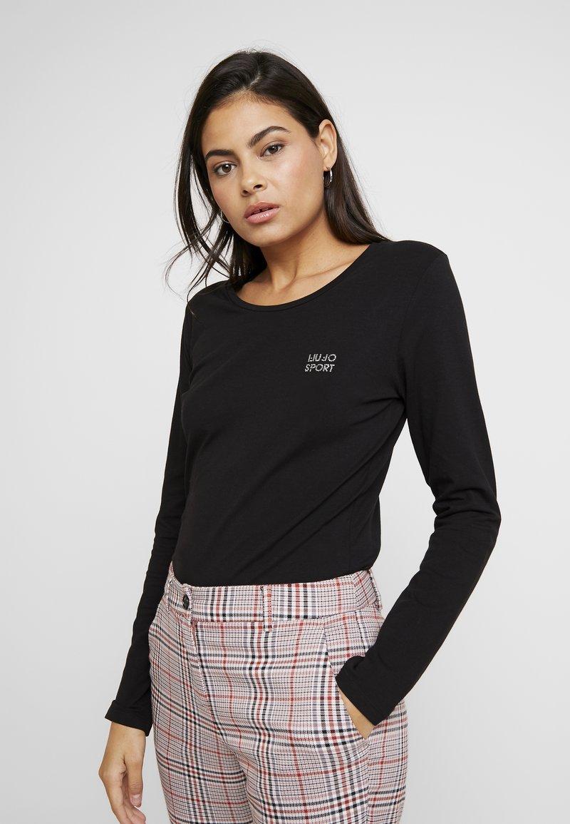 Liu Jo Jeans - BASICA - T-shirt à manches longues - nero