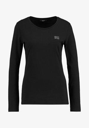 BASICA - T-shirt à manches longues - nero