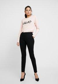 Liu Jo Jeans - Långärmad tröja - meg rose/logo paille - 1