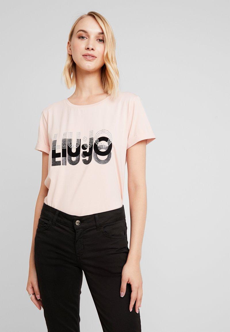 Liu Jo Jeans - T-shirt med print - rose