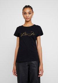 Liu Jo Jeans - MODA - T-shirts med print - nero/gold - 0