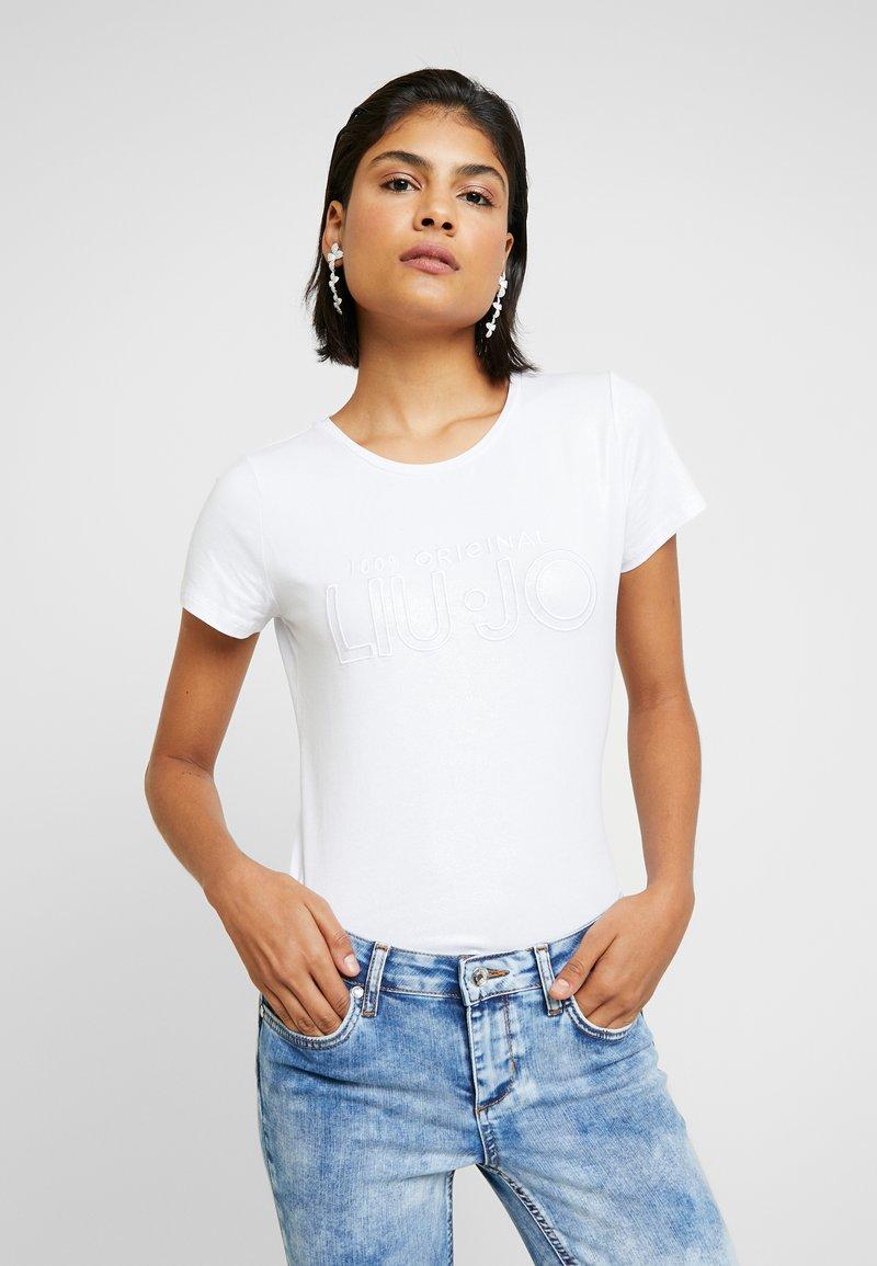 Liu Jo Jeans - T-shirts med print - bianco ottico