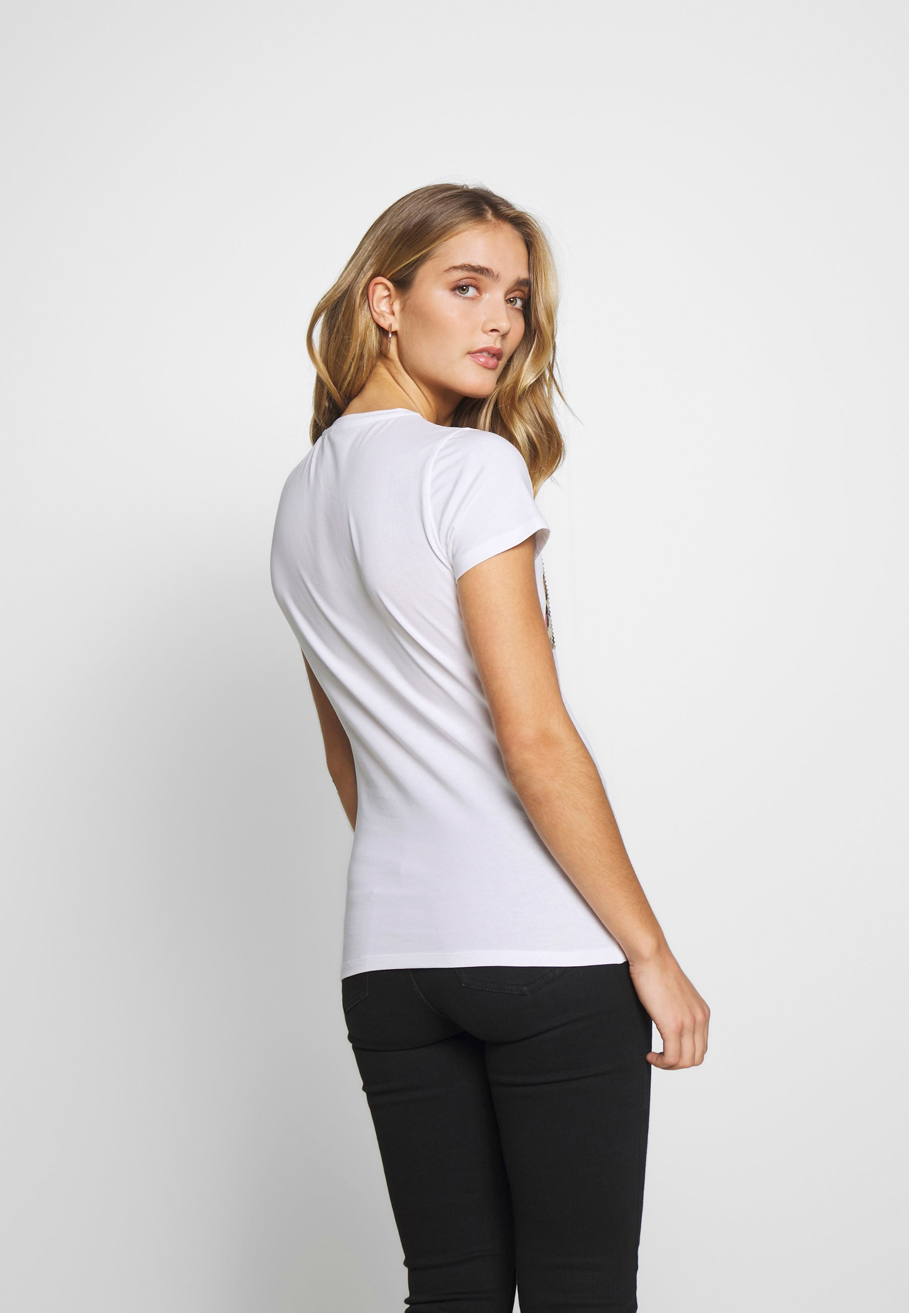 Liu Jo Jeans MODA - T-shirts med print - white