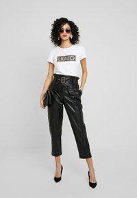 Liu Jo Jeans - T-shirt med print - bianco ottico - 1