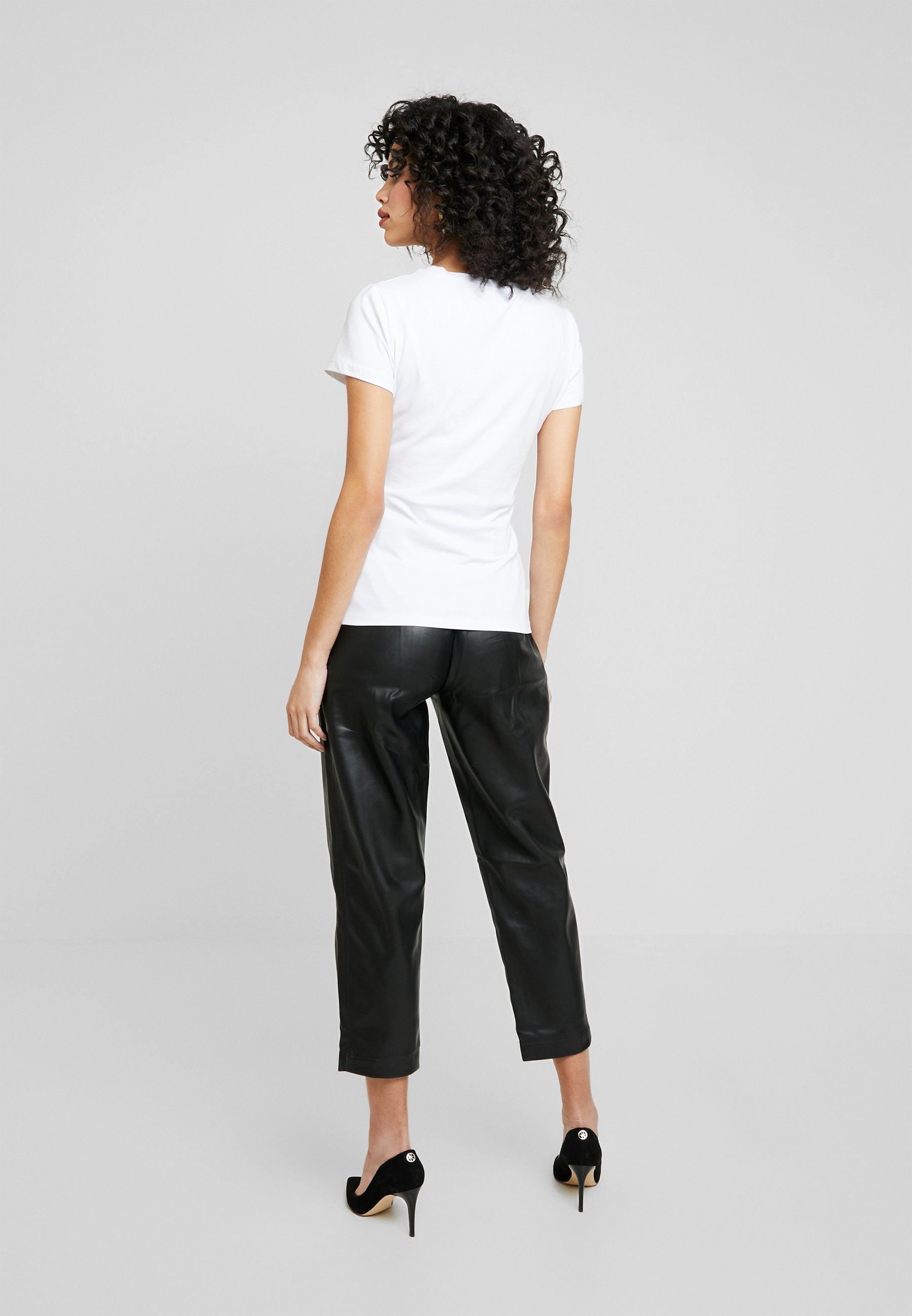Liu Jo Jeans Print T-shirt - Bianco Ottico