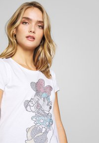 Liu Jo Jeans - MODA - T-shirts med print - white - 4
