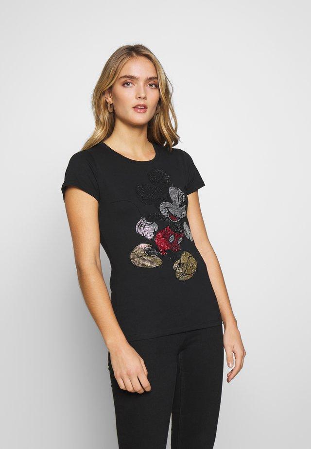 MODA - T-shirt z nadrukiem - nero
