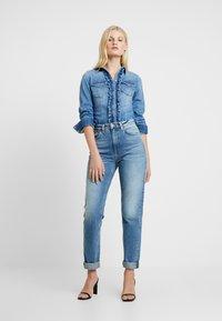 Liu Jo Jeans - ECS CAMICIA ROUCHES - Camisa - blue denim - 1
