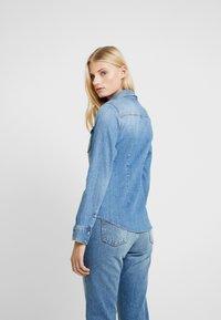 Liu Jo Jeans - ECS CAMICIA ROUCHES - Camisa - blue denim - 2