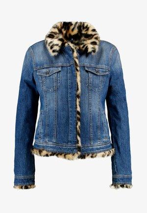 GIUBBINO RIDER - Denim jacket - denim blue