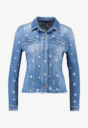 GIUBBINO RIDER  - Denim jacket - den.blue