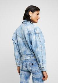 Liu Jo Jeans - GIUBBINO WRAP - Denim jacket - blue contrast - 2