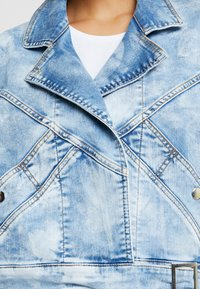 Liu Jo Jeans - GIUBBINO WRAP - Denim jacket - blue contrast - 5