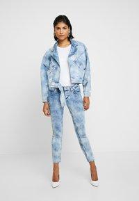 Liu Jo Jeans - GIUBBINO WRAP - Denim jacket - blue contrast - 1