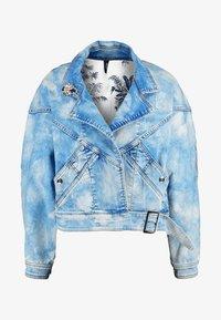 Liu Jo Jeans - GIUBBINO WRAP - Denim jacket - blue contrast - 4