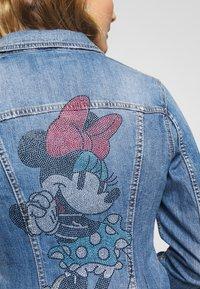 Liu Jo Jeans - GIUBBINO RIDER - Denim jacket - blue - 4