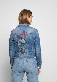 Liu Jo Jeans - GIUBBINO RIDER - Denim jacket - blue - 2