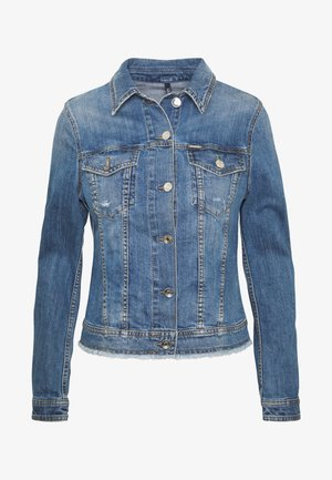 GIUBBINO RIDER - Denim jacket - blue