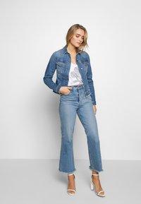 Liu Jo Jeans - GIUBBINO RIDER - Denim jacket - blue - 1