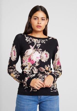 MAGLIA CHIUSA BARCH - Pullover - black