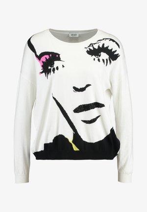 MAGLIA - Pullover - white pop face