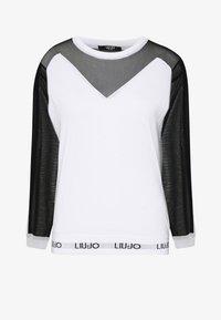 Liu Jo Jeans - MAGLIA CHIUSA - Sweter - white/black - 3
