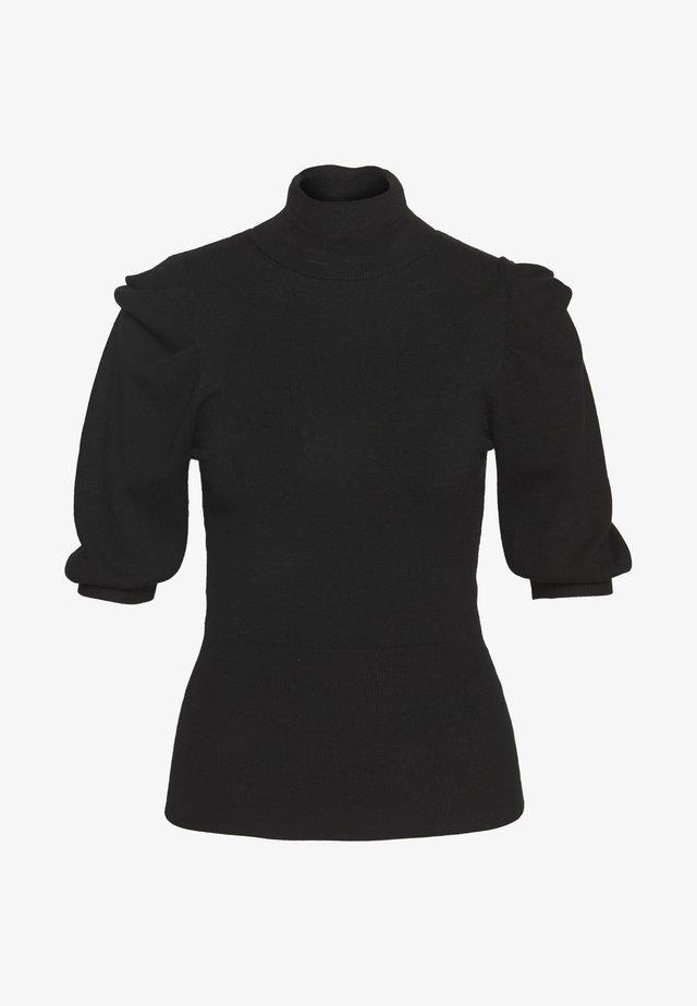 MAGLIA CHIUSA DOLCEVITA - Print T-shirt - black
