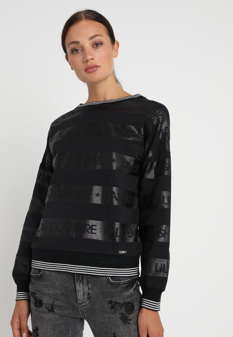Liu Jo Jeans - FELPA CHIUSA OFELIA - Sweater - nero