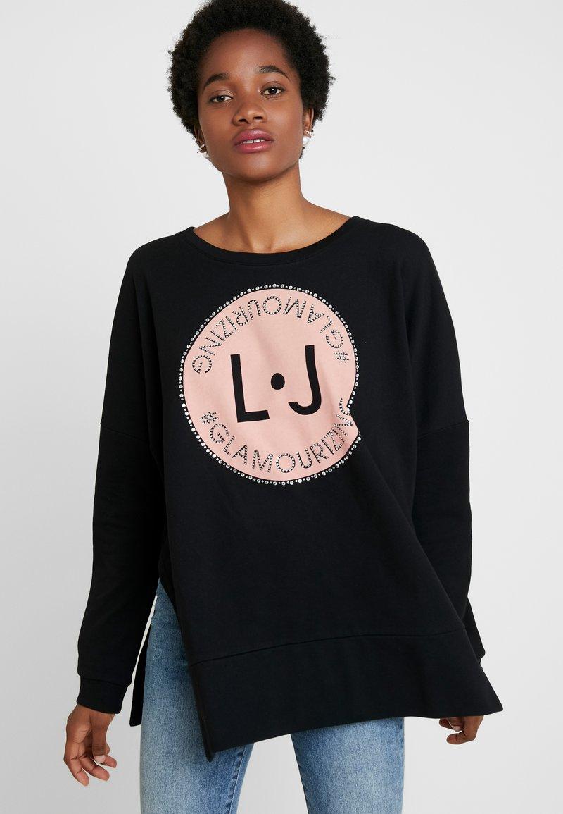 Liu Jo Jeans - FELPA CHIUSA - Sweatshirt - nero