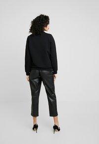 Liu Jo Jeans - FELPA CHIUSA - Sweatshirt - nero - 2