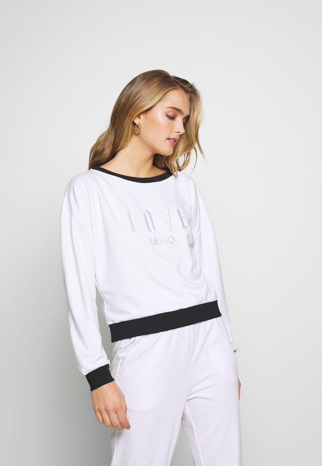 FELPA CHIUSA - Sweatshirt - bianco ottico