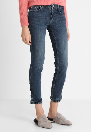 RUFFLE - Jeans slim fit - dark-blue denim