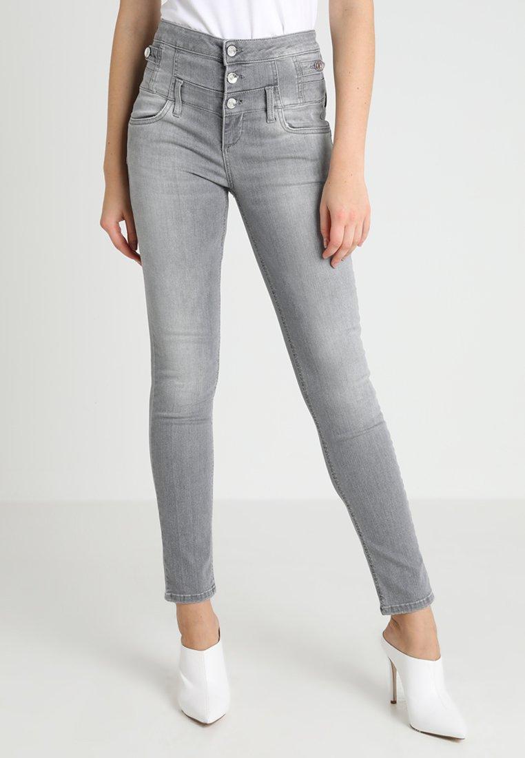 Liu Jo Jeans - RAMPY HIGH WAIST - Slim fit jeans - grey heather wash
